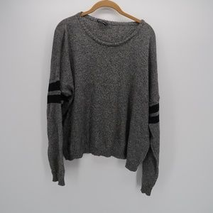 Brandy Melville Scoop Neck Knit Pullover Sweater